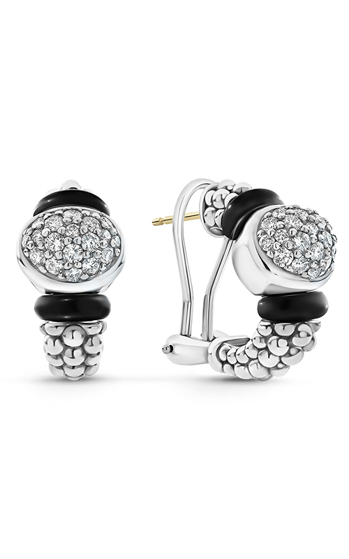 Lagos Black Caviar Earrings 01-81915-CB product image