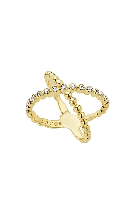 Lagos Caviar Gold Fashion ring 02-10232-DD7 product image
