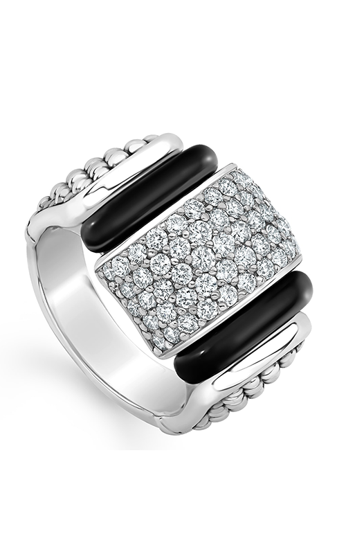 Lagos Black Caviar Fashion ring 02-80722-CB6 product image