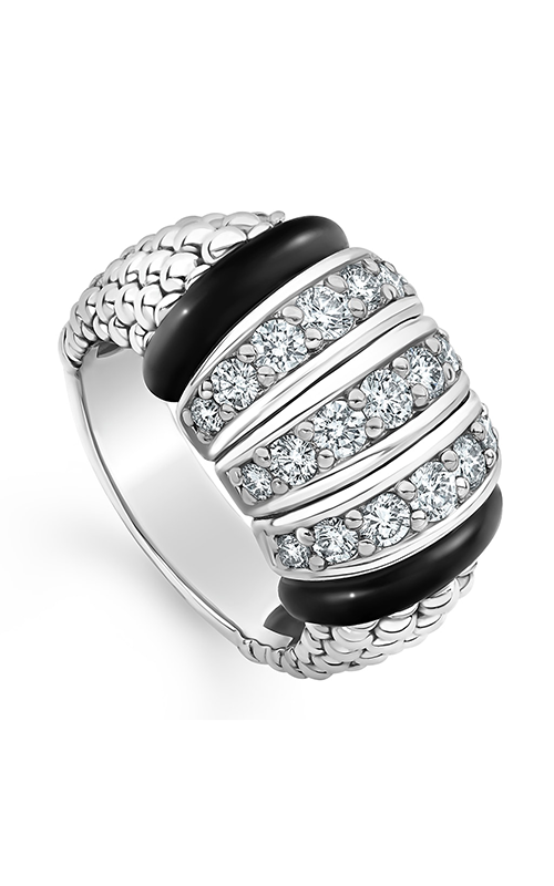 Lagos Black Caviar Fashion ring 02-80731-CB6 product image