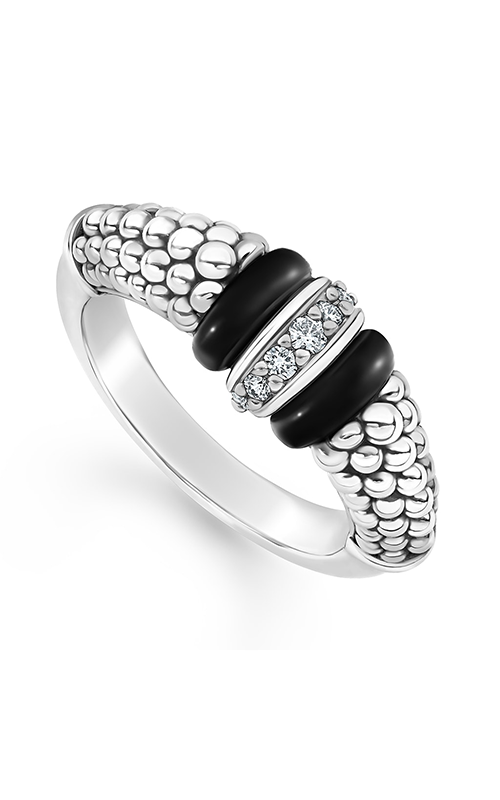 Lagos Black Caviar Fashion ring 02-80732-CB7 product image