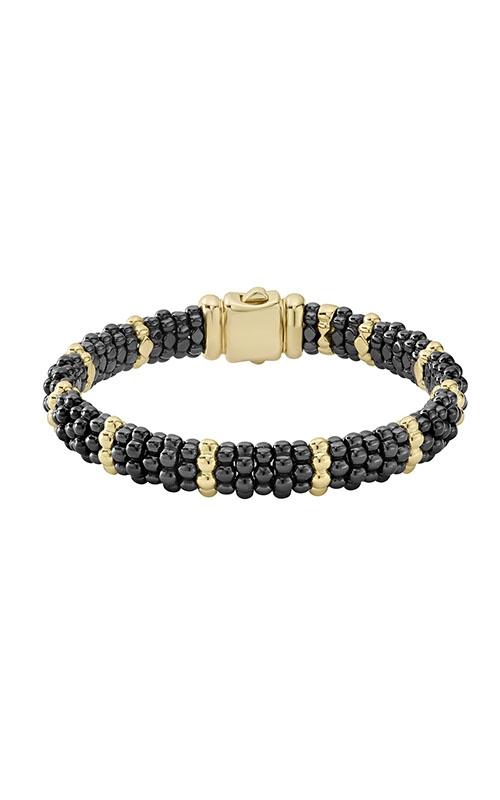 Lagos Gold & Black Caviar Bracelet 05-10276-CBM product image