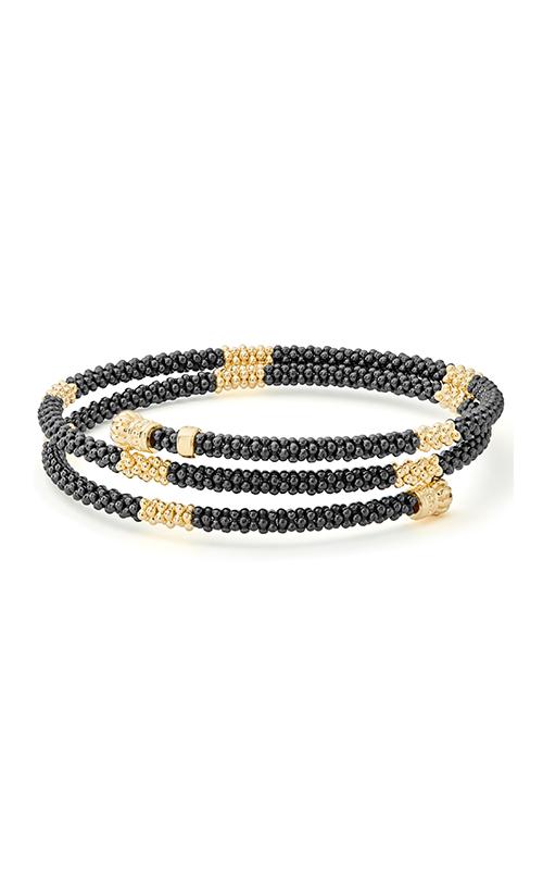 Lagos Gold & Black Caviar Bracelet 05-10295-CBM product image