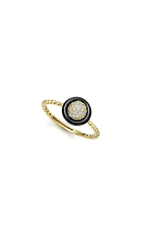 Lagos Gold & Black Caviar Fashion ring 02-10302-DD7 product image