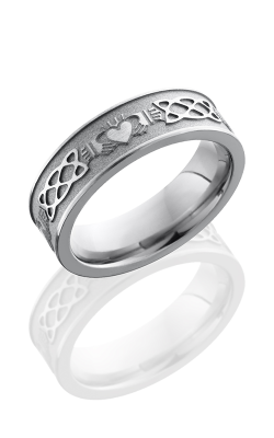 Lashbrook Titanium Wedding Band 6FCLADDAGHCELTIC product image