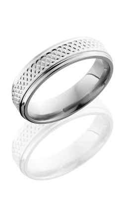 Lashbrook Titanium Wedding band 6FGETIGHTWEAVE product image