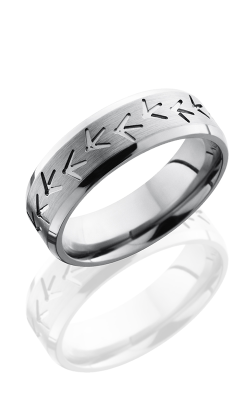 Lashbrook Titanium Wedding band 7BTURKEYTRACK product image