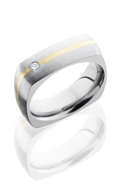 Lashbrook Titanium Wedding band 7DSQ11 14KYDIA07 product image