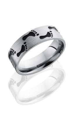 Lashbrook Titanium Wedding band 7FFOOTPRINTA product image