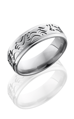 Lashbrook Titanium Wedding Band 7FGEWAVE product image