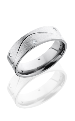 Lashbrook Titanium Wedding Band 7FHALFINFDIA6X03 product image