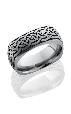 Lashbrook Titanium Wedding Band 8DSQLCVCELTIC16 product image