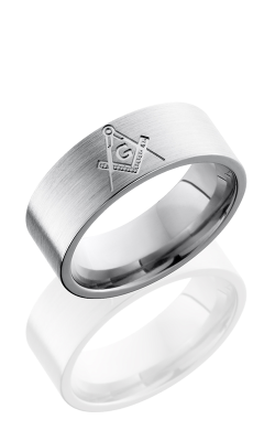 Lashbrook Titanium Wedding Band 8FCOMPASS product image