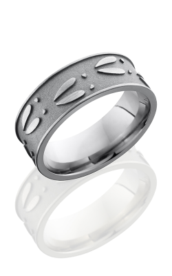 Lashbrook Titanium Wedding Band 8FDEERU product image