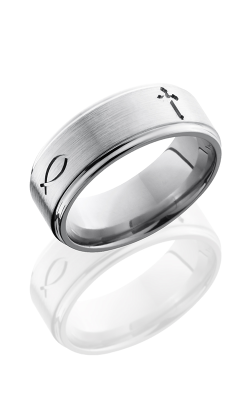 Lashbrook Titanium Wedding Band 8FGE2XF product image