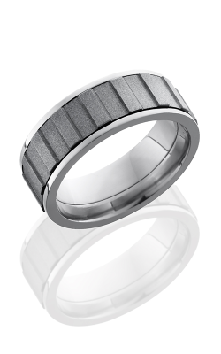 Lashbrook Titanium Wedding Band 8FGEARSPINNER product image