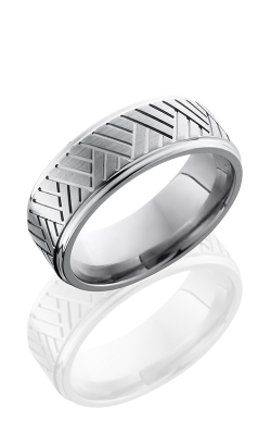 Lashbrook Titanium Wedding band 8FGEBASK product image