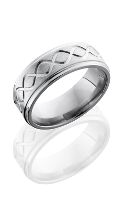 Lashbrook Titanium Wedding Band 8FGETALLINF product image