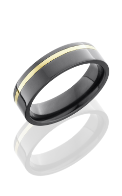 Lashbrook Zirconium Wedding band Z6F11OC 14KY product image