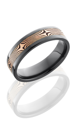 Lashbrook Zirconium Wedding Band Z6F13-M14RSH POLISH product image