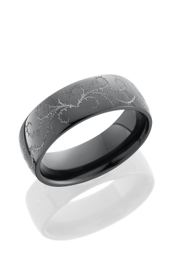 Lashbrook Zirconium Wedding band Z7D WLCVTHORNSHEART product image