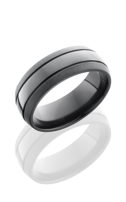 Lashbrook Zirconium Wedding Band Z8D2.5 product image