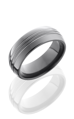 Lashbrook Zirconium Wedding Band Z8D3 5 product image