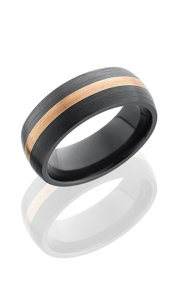 Lashbrook Zirconium Wedding Band Z8D12-14KR SATIN product image