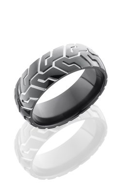 Lashbrook Zirconium Wedding Band Z8D-CYCLE41 POLISH product image