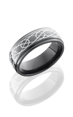 Lashbrook Zirconium Wedding Band Z8DGE-CELTIC7 POLISH product image