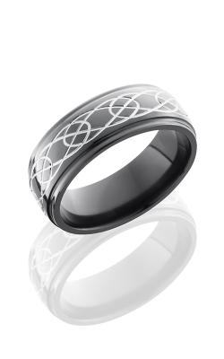 Lashbrook Zirconium Wedding band Z8DGE-CELTIC7 POLISH product image