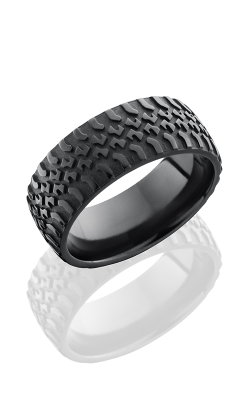 Lashbrook Zirconium Wedding band Z9DTRUCK BEAD-POLISH product image