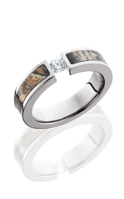 Lashbrook Camo Engagement Ring CAMO5F13SEGCZ.25T RTAP POLISH product image