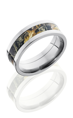 Lashbrook Camo Wedding Band CAMO8F14 RTAP POLISH product image