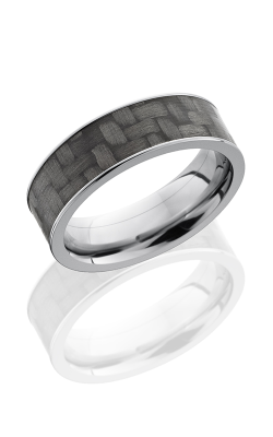 Lashbrook Carbon Fiber Wedding band C7F16 CF POLISH product image