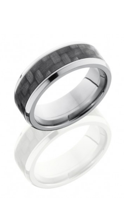 Lashbrook Carbon Fiber Wedding Band C8B15 CF NS POLISH product image