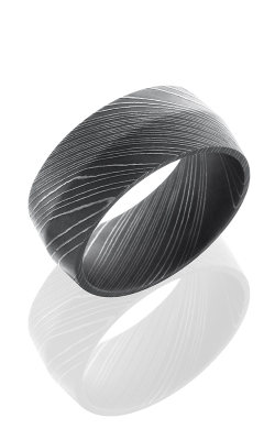 Lashbrook Damascus Steel Wedding band D10P ACID product image