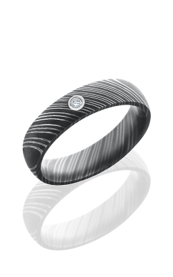 Lashbrook Damascus Steel Wedding band D5DDIA.03B ACID product image
