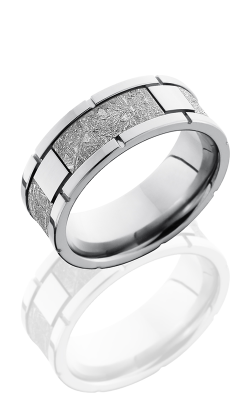 Lashbrook Meteorite Wedding band CC8F4SEG-METEORITE POLISH product image