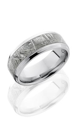 Lashbrook Meteorite Wedding band CC9B15 S METEORITE POLISH product image