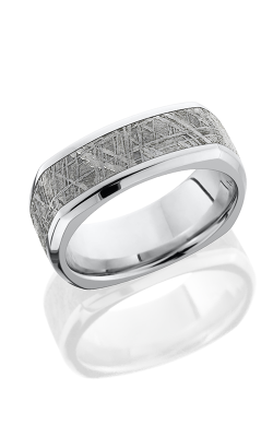Lashbrook Meteorite Wedding Band CC8BSQ15 METEORITE POLISH product image