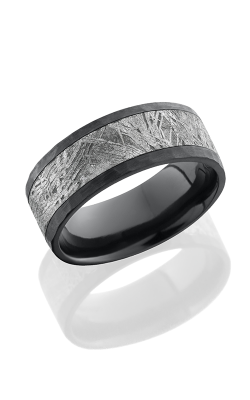 Lashbrook Meteorite Wedding band Z8F15 METEORITE HAMMER product image