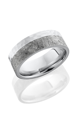 Lashbrook Meteorite Wedding band CC8F15EDGE METEORITE HAMMER product image
