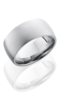 Lashbrook Cobalt Chrome Wedding band CC10D BEADBLAST product image