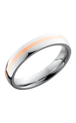 Lashbrook Cobalt Chrome Wedding band CC4D11-14KR POLISH product image