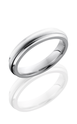 Lashbrook Cobalt Chrome Wedding band CC4DGE ANGLE SATIN-POLISH product image