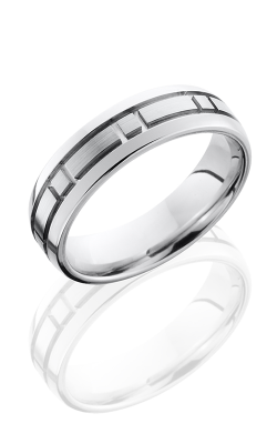 Lashbrook Cobalt Chrome Wedding band CC6DBOX product image