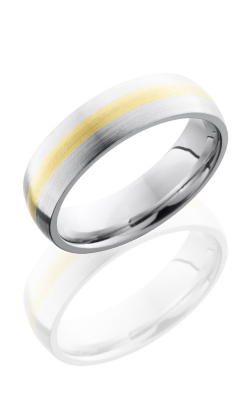Lashbrook Cobalt Chrome Wedding band CC6D12-14KY SATIN product image