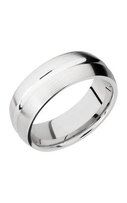 Lashbrook Cobalt Chrome Wedding band CC8DC POLISH-SATIN product image
