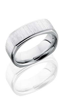 Lashbrook Cobalt Chrome Wedding band CC8FGESQ CROSS SATIN-POLISH product image